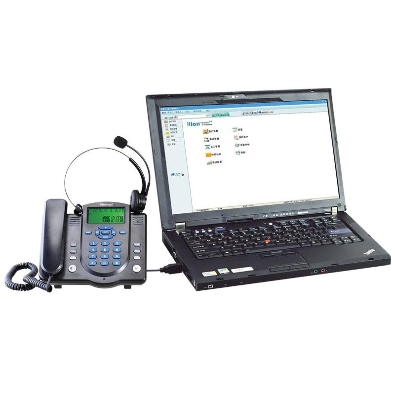 U860 电脑弹屏录音电话耳机
