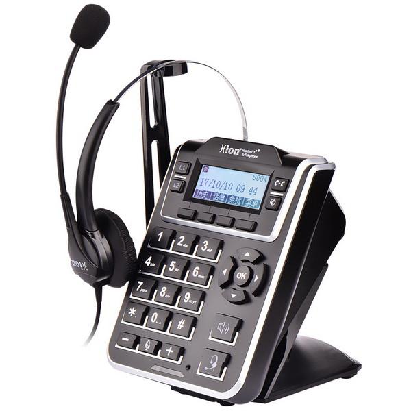 NH60D 呼叫中心双耳耳麦